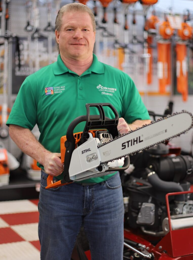 shaun stihl chainsaws About